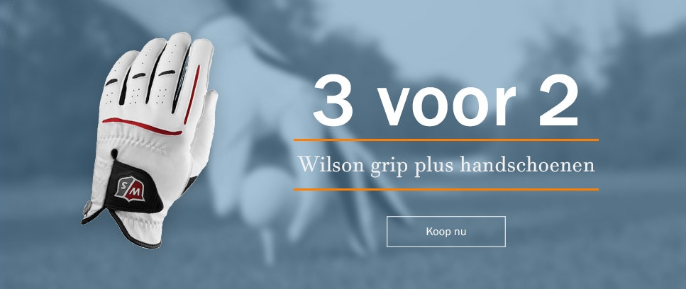 Koop 3 Wilson grip plus handschoenen, betaal slechts voor 2