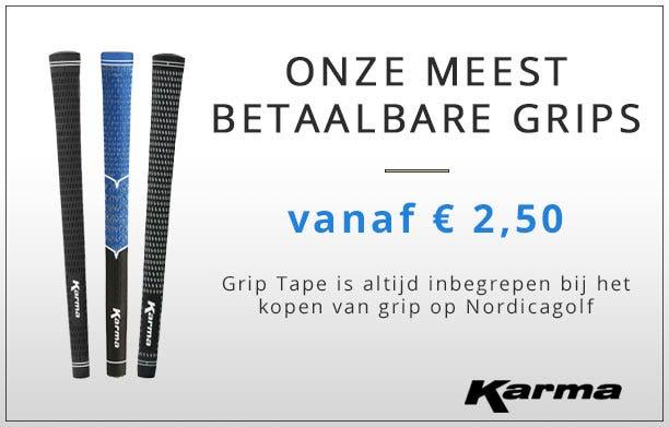 Karma golf grips vanaf €2.50