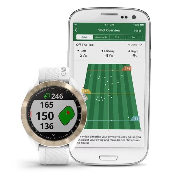 Garmin Approach S40 GPS watch